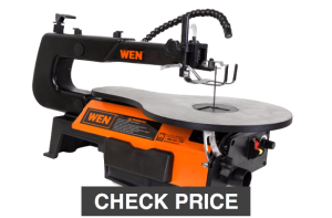 WEN 3921 16 inch Two Direction Variable Speed Scroll Saw