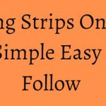 Cutting Strips On Table Saw - Simple Easy Step to Follow